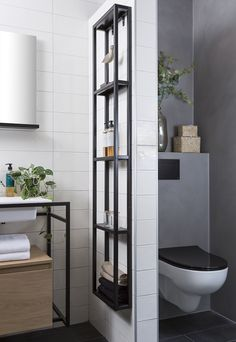 Small Bathroom Storage, Laundry In Bathroom, Bathroom Renos, Küchen Design, House Design, Kitchen Cabinets On A Budget, Upstairs Bathrooms, Home Office Decor, Home Decor