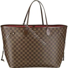 Louis Vuitton Damier Ebene Canvas Neverfull Gm N51106 Fashion Bags Handbags Womens