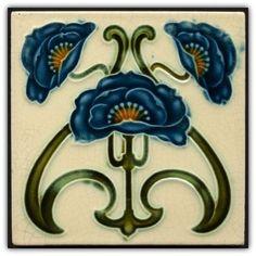 Art nouveau majolica. Manufacturer: Corn Bros. Date: circa 1902.