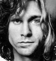 Jim Morrison & Kurt Cobain morphed