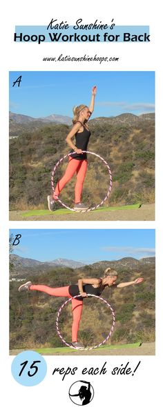 Here's a good workout for your back that also works on balance! Fun Workouts, Sunshine, Fitness, Keep Fit, Health Fitness, Rogue Fitness, Gymnastics