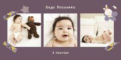 Scrapbook | Cartes de naissance personnalisées PaperShaker. Créez des faire-part de naissance et des cartes de remerciements uniques pour présenter bébé à vos proches. www.paper-shaker.com/fr #PaperShaker #CartesNaissance