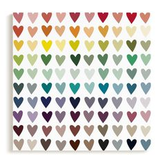 """""""Paper Hearts"""" - Limited Edition Art Print by InkDot in beautiful frame options and a variety of sizes. Kids Bedroom, Bedroom Decor, Paper Hearts, Custom Art, Nursery Wall Art, Wedding Invitations, Art Prints, Frame, Cart"""