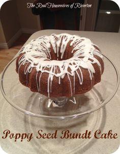 This Poppyseed Bunt Cake Recipe is simple yet delicious.  HousewivesofRiverton.com poppyseed|bunt cake|recipe