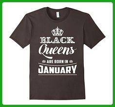 6eef59d030cd Mens Black Queens Are Born In January T-Shirt Birthday Gift XL Asphalt -  Birthday