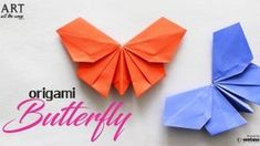 How to fold : Origmai Butterfly Paper Craft