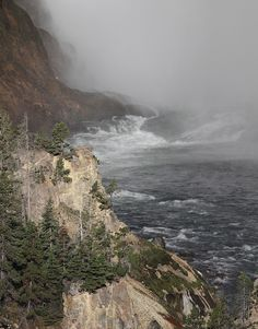 Yellowstone River; Yellowstone National Park, Wyoming (pinned by haw-creek.com)