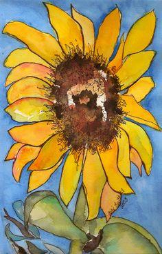 Grandpa's Sunflower | by jjlcooterpie