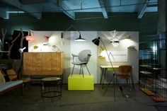 Augustus Greaves at the fabulous Midcentury Modern Pop Up designjunction 2012 www.modernshows.com