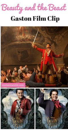 Who isn't excited to see Disney's new Beauty and The Beast? Good news we have a video clip of Gaston's musical number and it's amazing!