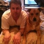 Mark and his pup, Ferguson.
