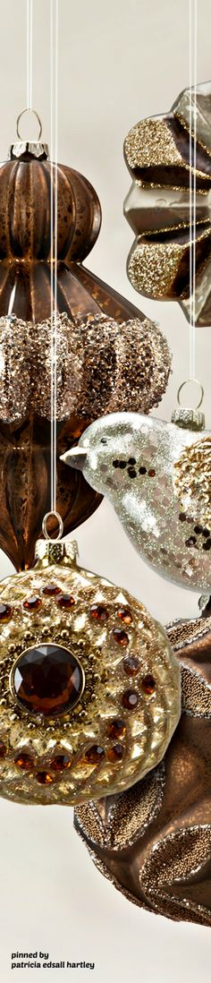 Golden Sparkle, Bronze For Contrast, A Touch Of Silver And Plenty Of Baubles And Glitter