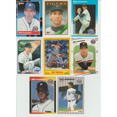 HUGE 35 + Different MIKE HENNEMAN cards lot 5 RC 1987 - 1994 all Tigers premiums Listing in the 1980-1989,Sets,MLB,Baseball,Sports Cards,Sport Memorabilia & Cards Category on eBid United States | 147999465