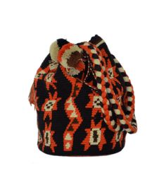 FREE Shipping Authentic Wayuu Boho Shoulder Bag  por MoonLionBags, $149.00