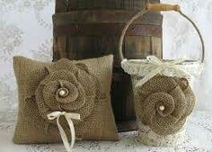 Your place to buy and sell all things handmade Burlap Fabric, Fabric Ribbon, Ribbon Bows, Fabric Flowers, Burlap Roses, Vintage Sheet Music, Burlap Crafts, Flower Girl Basket, Wedding Crafts