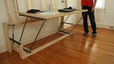 Build your own transformer bed that turns into a desk : TreeHugger
