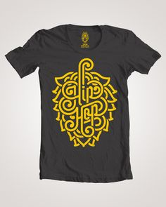 Killer craft beer and homebrew centric design on a quality tee! Show your pride in the almighty hop!