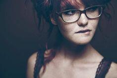 Slim redhead glasses sex