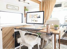 Want to replace those old light fixtures in your motorhome with updated RV interior lighting? It's a lot easier than you think! Rv Interior, Interior Lighting, Interior Design, Motorhome Interior, Rv Living, Tiny Living, Gypsy Living, Remodeled Campers, Tiny House On Wheels
