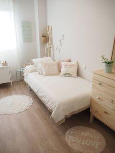 La habitacion de Angela, un espacio natural. - Blog decoración y Proyectos Decoración Online #decoracionhabitacion