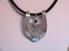 Fork NecklaceVintage Spoon Jewelry Silverware by BeverlyMichaud, $31.00