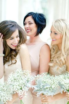 Bridesmaids flowers - but gypsophilia funny smell?