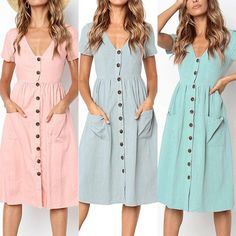 Women Casual Dress Sparkly Dresses Bohemian Attire For Women – modilys Source by attire Preppy Summer Outfits, Casual Skirt Outfits, Fall Fashion Outfits, Casual Dresses For Women, Clothes For Women, Bohemian Attire, Ladies Dress Design, Summer Dresses, Sparkly Dresses