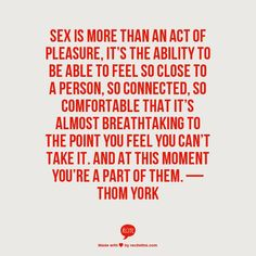 In the words of the amazing Thom Yorke...