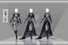Com: Design outfit 4 by LaminaNati on DeviantArt                                                                                                                                                                                 More