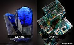 All minerals, therefore, form crystals