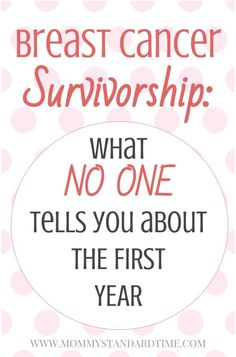 What I wish I had known about being a breast cancer survivor. What no one tells you about the first year of breast cancer recovery. Breast Cancer Support, Breast Cancer Survivor, Cancer Survivor Quotes, Cancer Survivor Tattoo, Quotes About Cancer, Breast Cancer Quotes, Breast Cancer Tattoos, Cancer Fighter, Cancer Fighting Foods