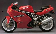 """Ducati 900 SS (1991), Rolling Sex. Loved it but oh my. Read """"song of the sausage creature"""" by Hunter S Thompson for the mentality of this bike."""