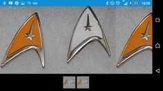 Ebay star trek badge