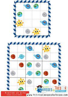 Sudoku facile pour enfant avec des images