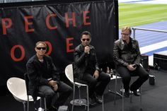 Depeche Mode Press Conference SotU
