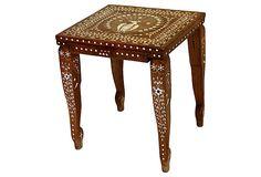 Peacock Inlay Table on OneKingsLane.com