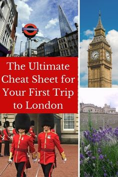 Planning to Travel to London? This is a complete London Guide with itinerary ideas and tips, things to do, hotel suggestions, and more + Get a FREE London Cheat Sheet to take with you on your trip!