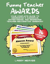 Funny Teacher Awards  Teacher Funny Teachers And Funny Certificates