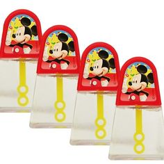 Mickey Mouse Bubble Blowers (4)