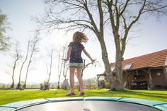 Trampolines are an excellent way to engage in family fun. They also provide an alternative to cardio exercise programs. Frequent use, UV rays, and liquid spillage can cause the wear faster causing...
