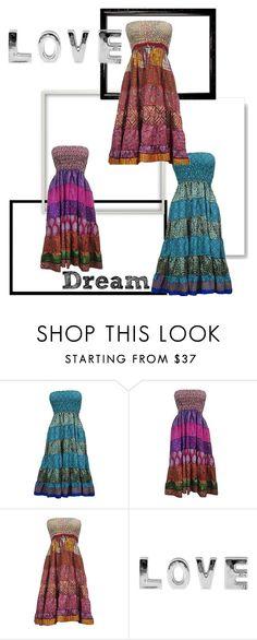 Beautiful Boho Chic Dress by era-chandok on Polyvore