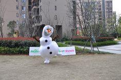 Disney Frozen Olaf Snowman Mascot Costume : Disney Frozen Olaf Snowman Mascot Costume  http://www.mascotshows.com/product/disney-frozen-olaf-snowman-mascot-costume-for-adult.html | mascotshows