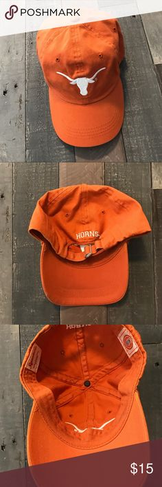 detailed look 8da89 648c8 Texas Longhorns hat Men s orange Texas Longhorns dad hat Size  one size fits  most (adjustable) Condition  preloved Accessories Hats