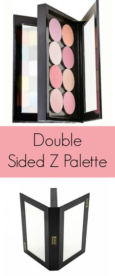 Makeup artist kit essentials.. double sided z palette. Save so much room! https://www.lecosmetique.com/double-sided-z-palette