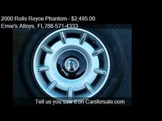 2000 Rolls Royce Phantom OEM Wheels/Tires (Metric) - for sale Miami Fl 33054 http://www.oemcarwheels.com/inventory.aspx