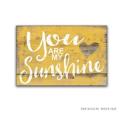 You are my sunshine wooden sign children's room decor nursery signs nursery decor children's room decor baby shower gifts inspirational sign.....Liz Delaney, looky!!!!