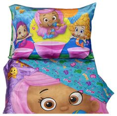 Bubble Guppies Toddler Bedding Set