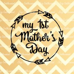 My 1st mother's day SVG, Mom Svg, Mother's day Svg, Mom's day SVG, Mother Svg, Mama svg, EPS, Dxf, Cut Files, Clip Art, Vector by SVGEnthusiast on Etsy