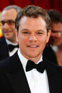 Matt Damon in a tux...