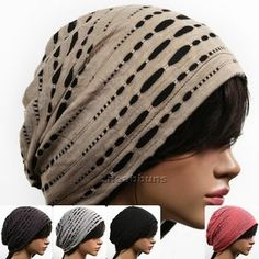 Unisex Chic Summer Beanie for Men Women Slouchy Top Hats Skull Best Cap New GM2 | eBay